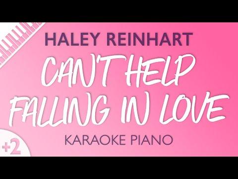 Can't Help Falling In Love (HIGHER Piano Karaoke) Haley Reinhart