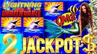 NEW SLOT ! ✦2 HANDPAY JACKPOTS✦ On High Limit Lightning Link Slot Machine - Up $62.50 A Spin! OMG-NG