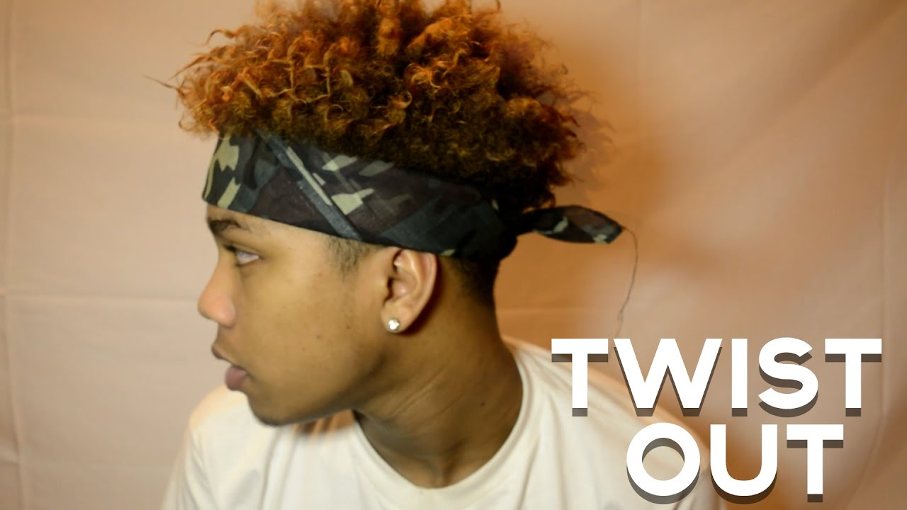 40ca7229 HOW TO DO BLACK MEN'S TWIST OUT TUTORIAL | EASY | - YouTube