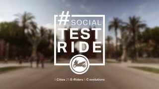 BMW Motorrad C evolution #SocialTestride: Tour 3 - Barcelona thumbnail