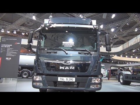 MAN TGL 8.190 4x2 BL Lorry Truck (2019) Exterior and Interior