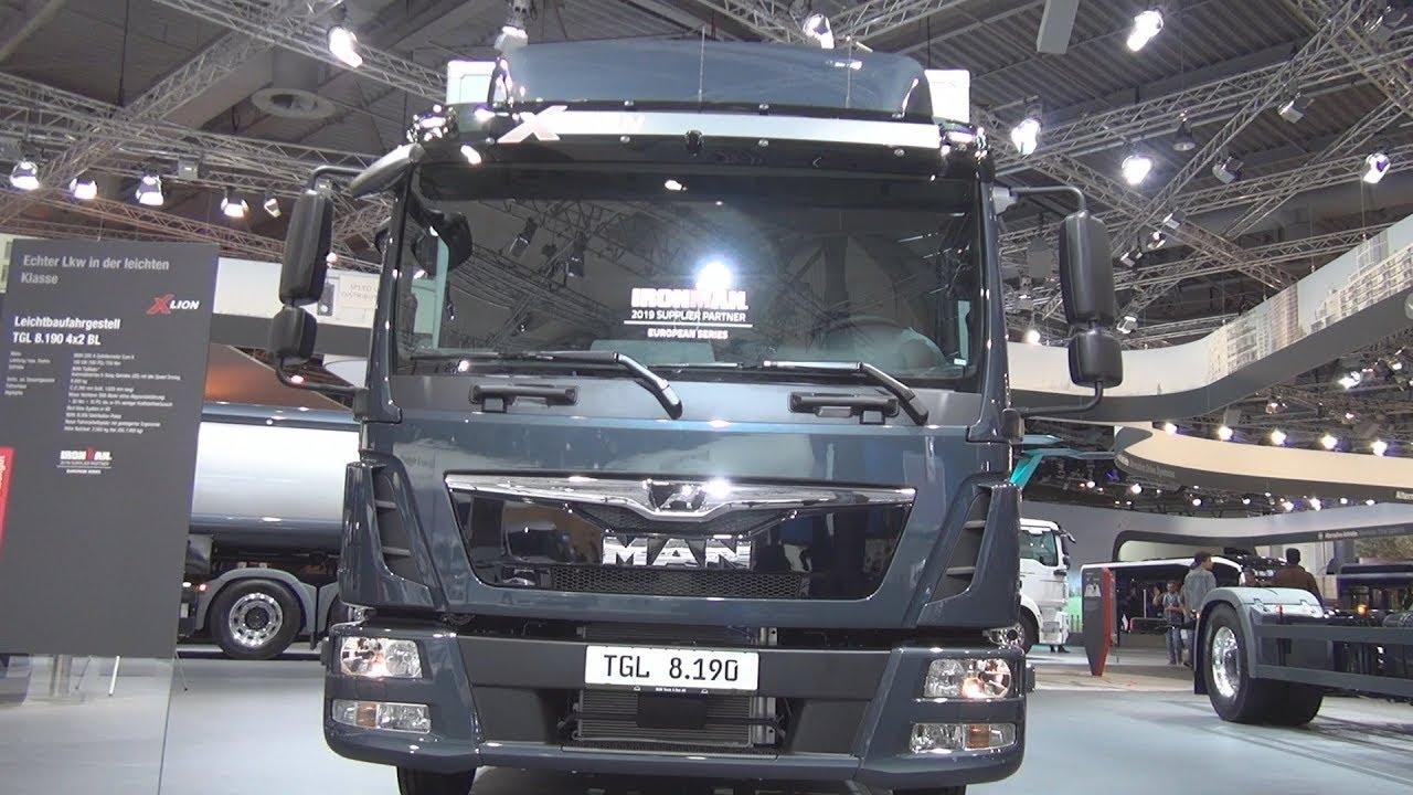 MAN TGL 8 190 4x2 BL Lorry Truck (2019) Exterior and Interior