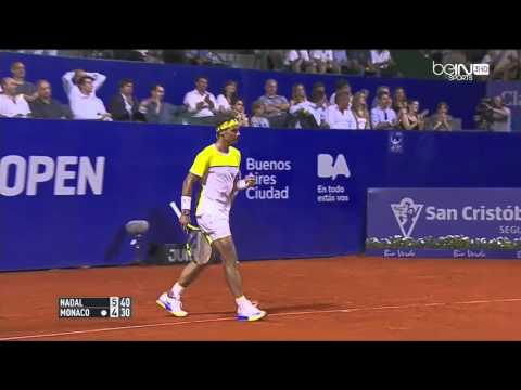 Buenos Aires Open 2016 : Rafael Nadal vs Juan Monaco (1/8 Finale), Highlights HD