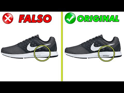 zapatillas nike falsos