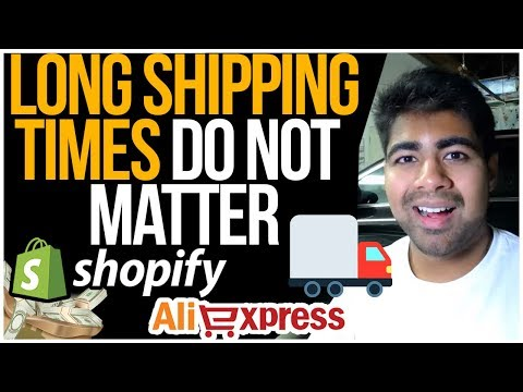 Why LONG Shipping Times DON'T Matter When Dropshipping With Aliexpress thumbnail