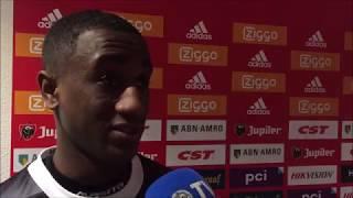 Reactie van Felida na afloop van het duel met Jong Ajax