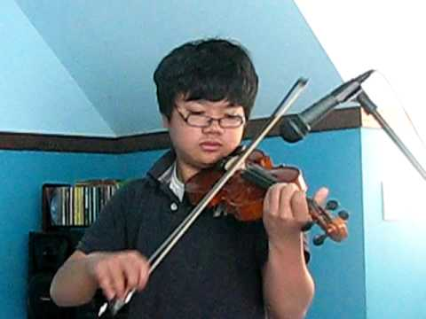 Fireflies (violin) cover by Ivan