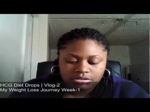 Walmart HCG Drops | Week 1 | My Weight Loss Journey Vlog-2