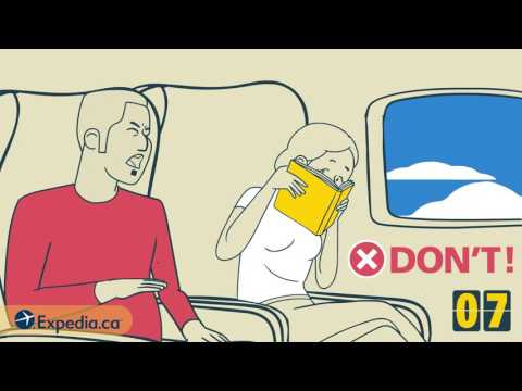 EXPEDIA: 10 Etiquette Rules for Flying Economy