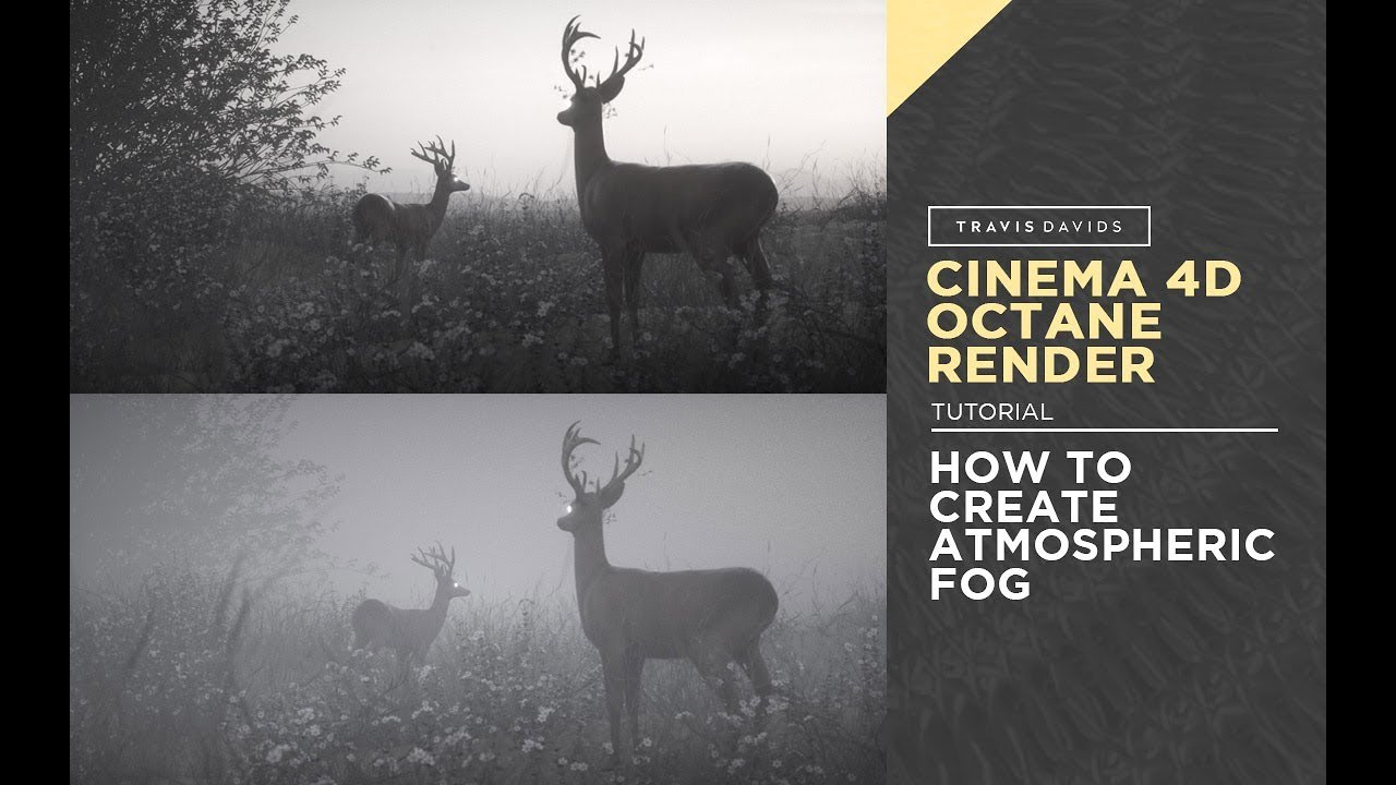 Cinema 4D, Octane Render - How To Create Atmospheric Fog