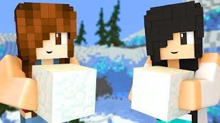 Minecraft - CONSTRUINDO NO GELO (Speed Builders)