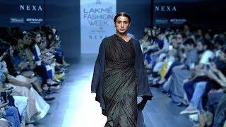 Tisca Chopra Walks For Vineet & Rahul | Spring/Summer 2018 | Lakme Fashion Week