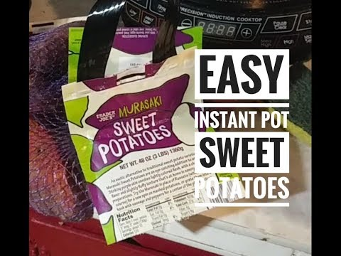 Very Fast and Easy Sweet Potatoes