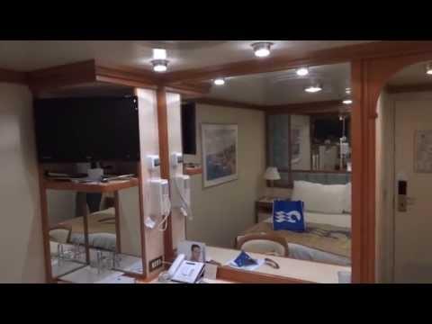 Princess Cruise Ship Interior Stateroom Tour