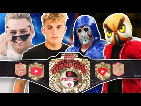 H2O Delirious & Vanoss vs. Jake Paul & Nick Crompton | N60 Tag Team Championship | WWE 2K18