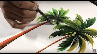 How To Paint Palm Trees Spray Paint Art Tips