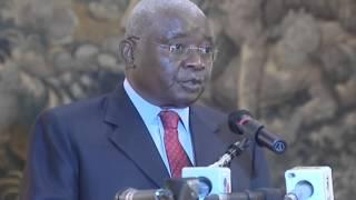 Armando Guebuza diz não fazer sentido que um governo de gestão, em Moçambique