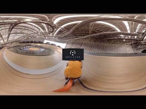 Sir Chris Hoy Velodrome at the Emirates Arena (360º film)