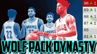 WOLF DYNASTY! 2018 TIMBERWOLVES REBUILD! NBA 2K17 My League