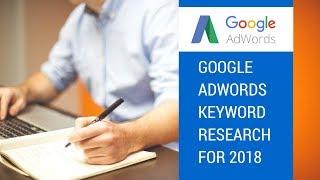 Google Adwords Keyword Research with SEMRush & Keyword.io for 2018