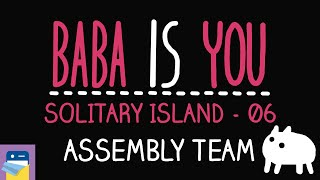 Baba Is You: Assembly Team - Solitary Island Level 06 Walkthrough (by Arvi Teikari / Hempuli)