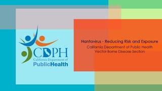 Hantavirus - Reducing Risk and Exposure