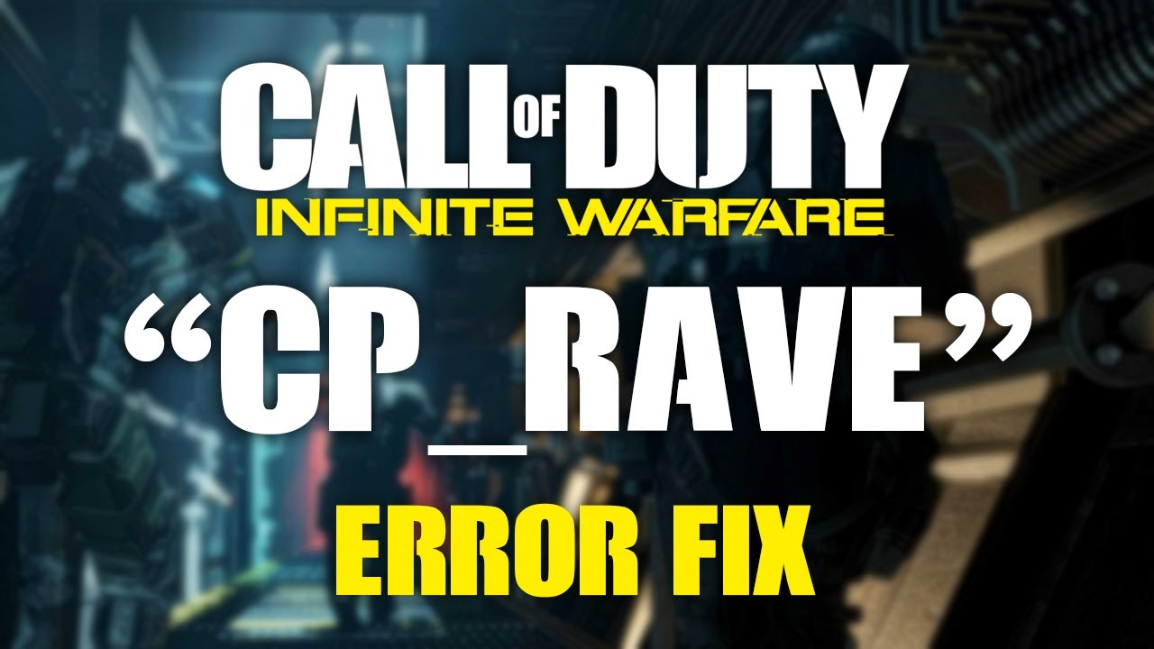 How to Fix the INFINITE WARFARE Disc Read Error