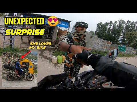 Day 10 - Army Anna Stopped Us & Surprised 😍   Srinagar To SONMARG   Ladakh Ride 2021