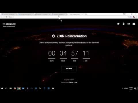 CPU Mine ZOIN Coin