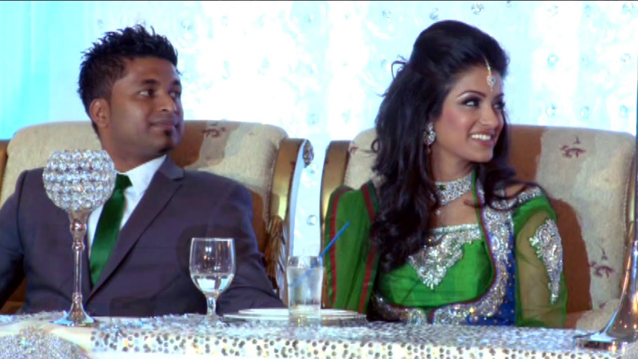 Bridesmaid Speech An Indian Wedding Reception Bombay Palace Mississauga Videography Photography