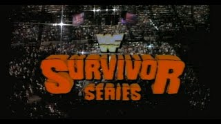WWF Survivor Series 1987 Watch Along
