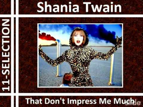 Shania twain leopard print that dont impress me much gif on gifer.