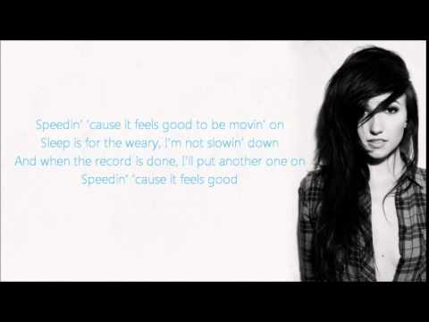 Lights - Speeding lyrics