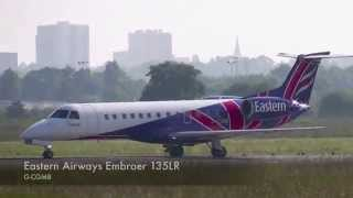Eastern Airways Embraer 135LR Special livery G-CGMB