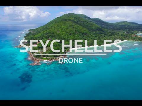 Seychelles 4k drone - La Digue Islands