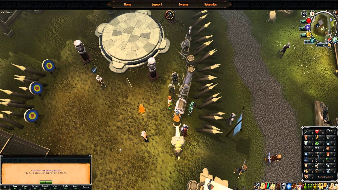 Using a Huge XP Lamp on a Level 1 Skill [Runescape] - YouTube