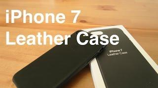 iPhone 7 Leather Case (Black)