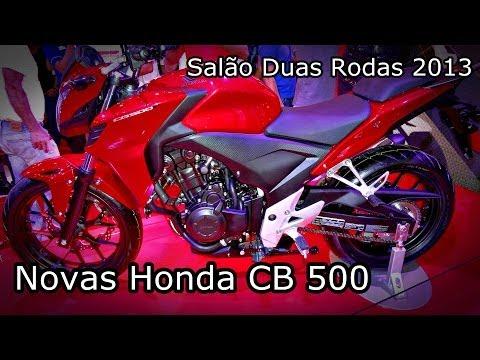 Nova Honda CB 500 2014 - NOVIDADE