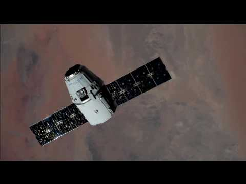 SpaceX CRS-12 Arrival and Docking at International Space Station
