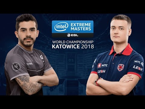 CS:GO - SK vs. Gambit [Inferno] Map 1 - LB Semi Group A - IEM Katowice 2018