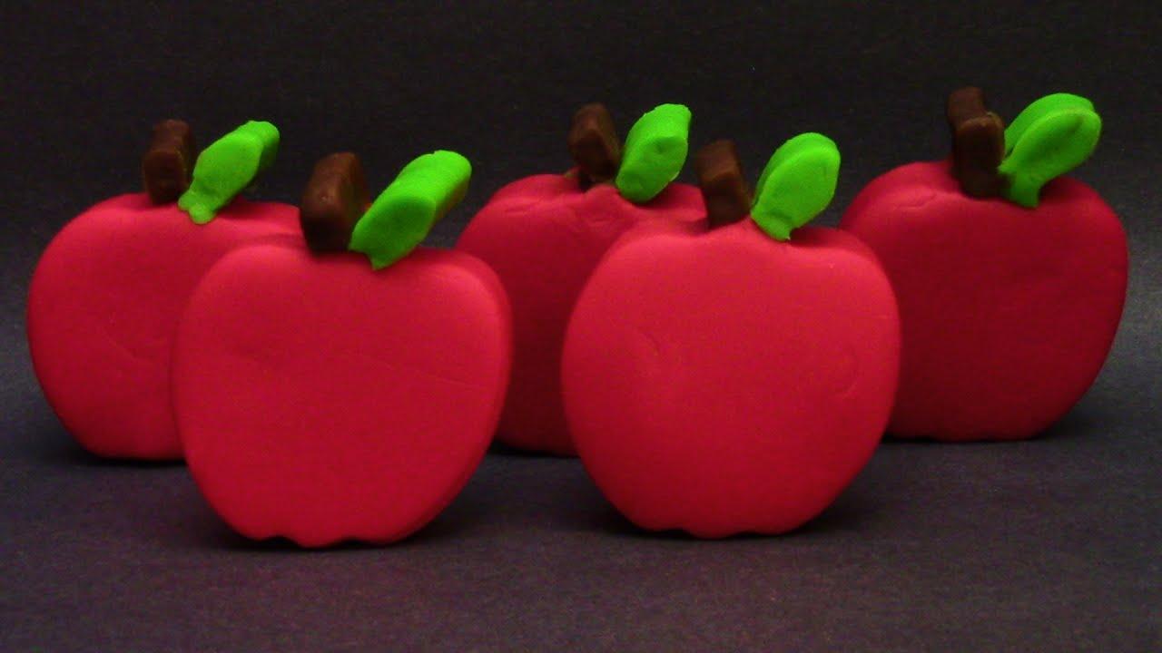 Play-Doh Apple Surprise Eggs Shopkins Dora Cars BestToySurprises ...