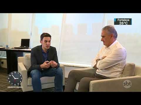 Exclusivo: Tite comenta preparação para a Copa do Mundo em entrevista | SBT Notícias (19/10/17)
