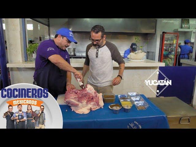 Nico te muestra los secretos del Lechón horneado   Cocineros Mexicanos