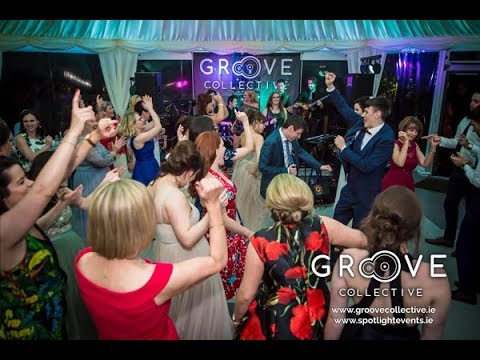 Time of My Life Saxophone Solo (live) - Wedding Band Cork Ireland | Groove Collective