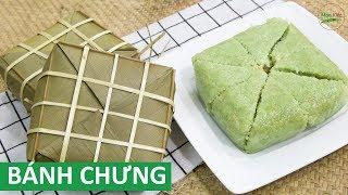 Cách gói Bánh Chưng và cách luộc nén bánh chưng chuẩn bị Tết   Món Việt