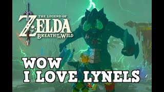 Lynels Are Actually EASY?! (Breath of the Wild)