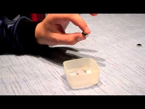 Superconductivity and Magnetic Flux Pinning Demonstration