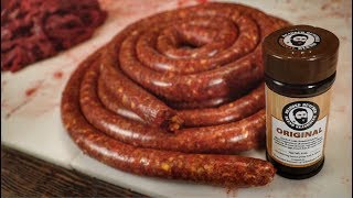 How to make Venison Sausage/Bratwurst. By the Bearded Butchers!