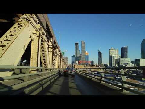 Driving from Alphabet City in Manhattan to Sunnyside in Queens,New York
