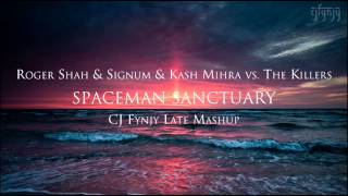 roger shah signum kash mihra vs the killers spaceman sanctuary cj fynjy mashup